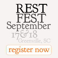 REST Fest - September 17 & 18, Greenville, SC - register now